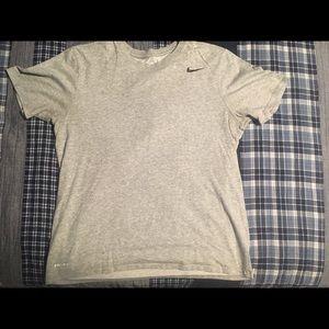 Grey Dri-Fit Nike T-Shirt